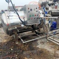 专业收购二手食品厂设备 饮料厂设备肉制品厂设备