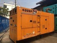 广东深圳日本进口静音发电机组280kw出售