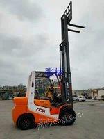 出售TCM三门架三吨叉车,升高4.5米