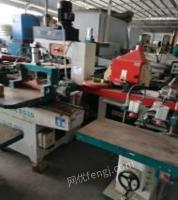 四川成都出售实木和板式家具厂里的,门厂里的全部机械设备