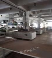 浙江杭州出售pur森贝兰包覆机 拼板机 二手木工机械
