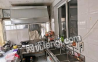 辽宁锦州全套厨房设备转让