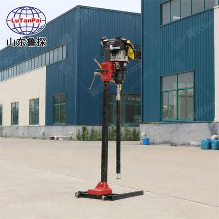 鲁探BXZ-2L立式背包钻机小型地表勘探取样设备便携式岩芯钻机