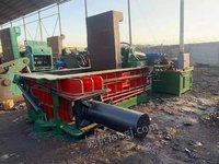 现货出售江阴高德160吨二手打包机,1米6x1米的料箱,40x40的块