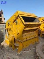 出售上海龙阳1315型反击式破碎机