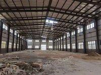 威海市二手钢构厂房回收