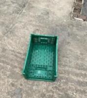 北京大兴区出售出租一批塑料折叠筐蔬菜筐生鲜电商配送筐水果筐