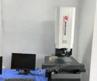 广东东莞二手七海全自动影像测量仪,2.5次元检测仪带探针可测高度出售