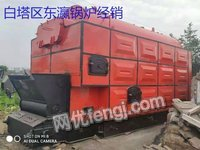 出售二手8吨燃煤蒸汽锅炉全套