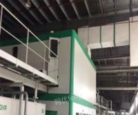 安徽合肥出售二手原装进口意大利2500纸板生产线