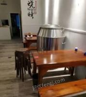 安徽六安饭店桌椅板凳,厨房设备等出售