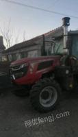 辽宁沈阳急卖1804拖拉机加打包机