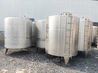 转让公司新购一批不锈钢储罐,规格有10立方20立方30立方40立方50立方等规格