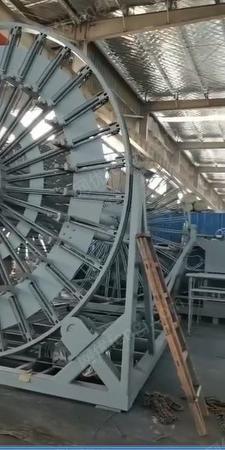 水泥制品厂采购钢筋笼滚机1台(详见图)