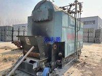 出售二手2吨生物质锅炉,蒸汽锅炉,卧式链条生物质锅炉。