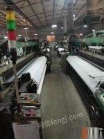 浙江杭州转让出售剑杆织机36台,型号SJ758-3300型