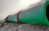 广东广州全新1.515米螺旋板滚筒烘干机出售