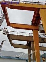 二手32吨龙门吊 双梁龙门吊 32吨二手龙门吊