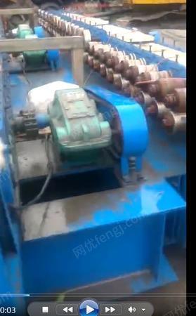 彩钢厂处理单瓦机1台(详见图)
