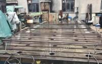 江苏常州处理工作平台6块 工作台1.12-3.8米,高度0.36米,一共6块,原来落地镗铣床上的