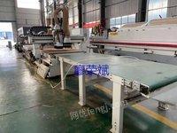 出售二手木工机械南兴NCG2512L数控开料机