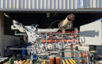 江苏盐城pur森贝兰包覆机 二手木工机械出售
