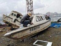 福建地区高价回收报废船