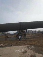 氧化锌厂拆迁出售1套回转窑3.2*48米 约200多吨