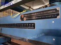 出售2018年邵阳产3400门幅9节烘房天燃气加热带轧车整纬全套
