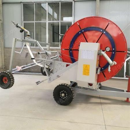 浇地灌溉机 农业喷灌设备 浇地用卷盘式喷灌机 农田节水灌溉机出售