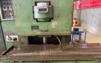 河南郑州低价处理二手机床齿条插齿机y58125a