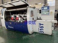 出售二手木工机械广东锐亚516T下五轴四面刨床
