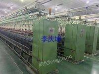 出售二手507细纱机带紧密纺14台