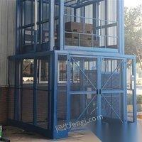 山东莱芜在位出售二手液压升降平台观光电梯