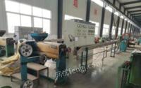 山东青岛塑料挤出机sj45/25 管式绞线机400/1+6 神马500/1+6 包带机630 成缆机630出售