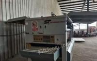 山东青岛九成新木工机械,异形砂光机出售