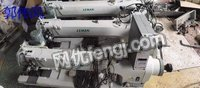 Buy second-hand long arm large shuttle sewing machine with rear tug with automatic thread trimmer