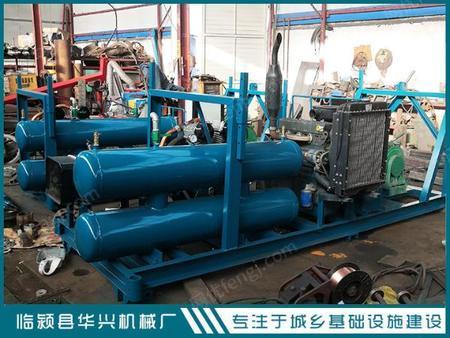 3立方空压洗井机   柴油机带洗井机出售