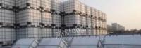 荆州江陵大量批发出售1000l方形铁架吨桶吨罐铁桶