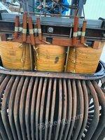 上门回收铜铝变压器、电柜、电缆、箱变。