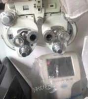 广东深圳因商铺租期到约,出售眼镜店验光涉设备