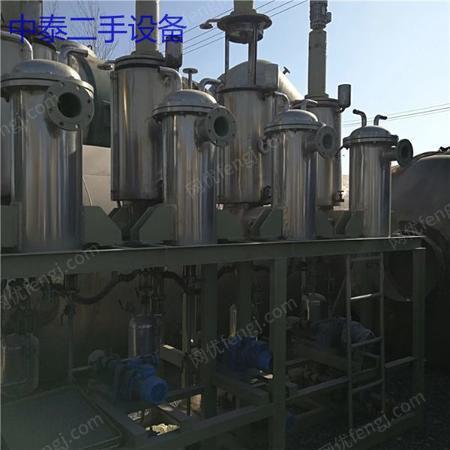 1吨三效降膜蒸发器废水蒸发器出售