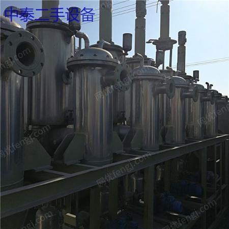 出售2吨不锈钢三效降膜蒸发器工业用