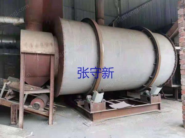 二手三回程滚筒烘干机 时产10吨以上二手滚筒烘干机