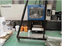 塑料桶厂处理金鹰3000g/500g伺服注塑机1套,全套模具,2台自动丝网印刷机(几个人合伙的),河北通达13年650双螺杆造粒机1套,自己的