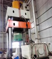 山东济南高行程油压机1250吨台面2750x2米开口3.5米有效行程2.6米南通产少用出售