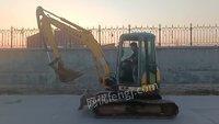 山东济南出售二手洋马55挖掘机一台