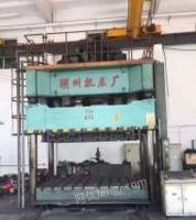 山东济南湖州油压机yf27-630吨,带侧移工作台出售