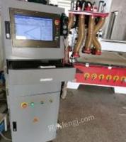 山东青岛换新设备倒下了,四工序开料机便宜处理,几乎全新,山龙系统