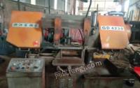 山东济宁出售钢管圆钢切削用机械设备 4230带锯床